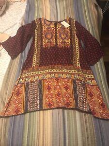 Robe indienne neuve XL