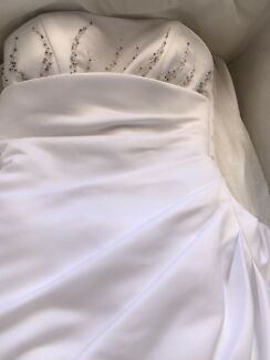 White wedding dress - $25