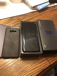 Samsung S8 - 64GB Black- UNLOCKED - BRAND NEW CONDITION