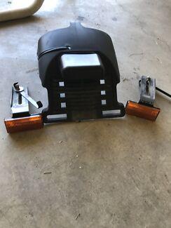 Harley-Davidson sportstar reg plate holder