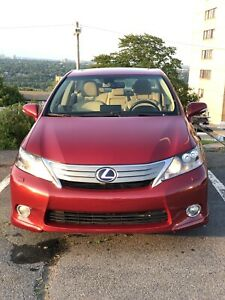 2011 Lexus HS 250h Hybrid Red (Premium Package)
