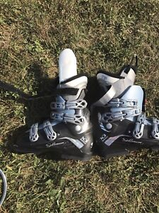 Salamon x3 irony ski boots - size 25/25.5 298mm