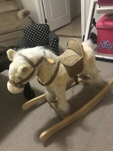 Animated rocking horse