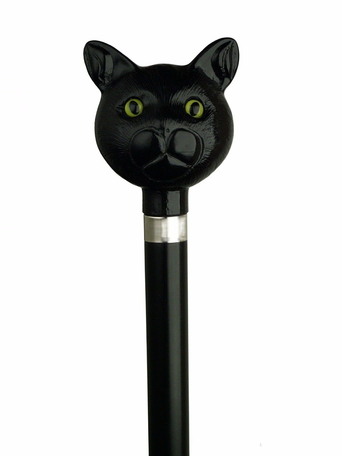 NEW! Harvy Cat-Lovers Black Cat Walking Stick Cane Catatude-