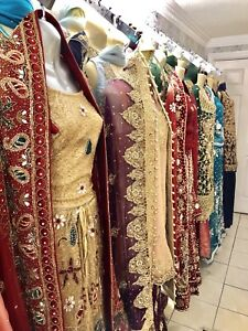 Pakistani bridal, wedding, party, dresses, lenghas, boutique