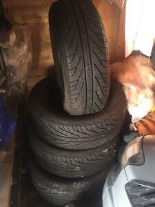 205 60 R15 hydro edge tires