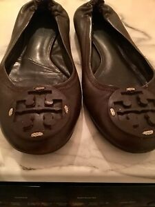 Authentic Tory Burch Leather Reva Ballet Flats!