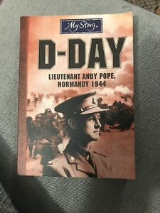 D Day Lieutenant Andy Pope - book