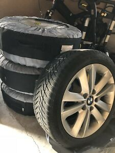 114ca0a665f1 BMW WINTER TIRE   RIM PACKAGE - 205 50R17