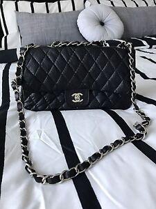 Faux leather Chanel shoulder bag Craigie Joondalup Area Preview