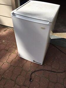 White mini fridge - Sold pending pickup