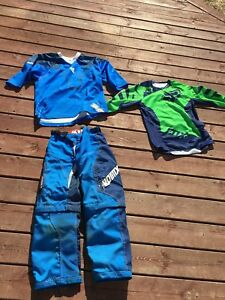 Boys mx gear