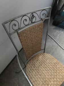 Wrought-Iron Patio Chair