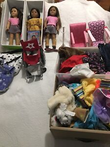 Giant American girl collection