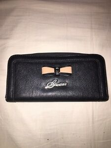 Authentic black guess wallet