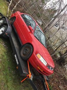 Parting out a 1999 Acura el