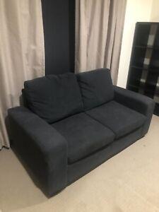 Charcoal Lounge 2 seater lounge