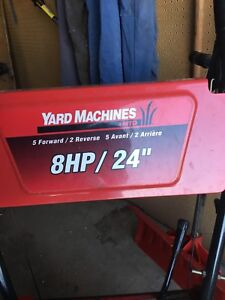 "8HP 24"" snow blower!  Swap trade or cash"