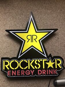 RockStar Energy Light Sign
