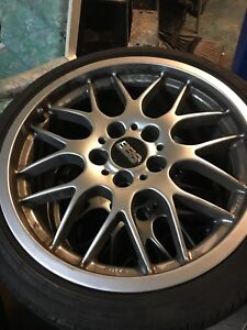 """BMW BBS RGR-GT 18"""" MAGS AND TIRES"""