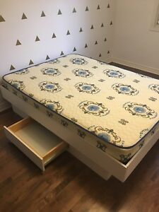 Double bed and mattress for sale