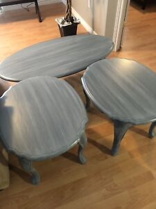 Sent of coffee tables just refinished