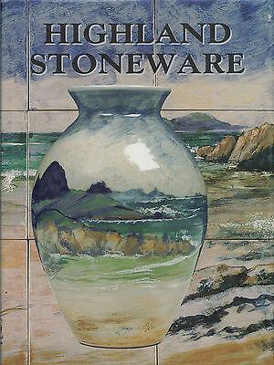 BOOK: HIGHLAND STONEWARE (LOCHINVER POTTERY, SCOTTISH POTTERY, DAVID GRANT)