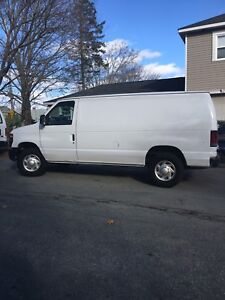 Ford  E-250 work van