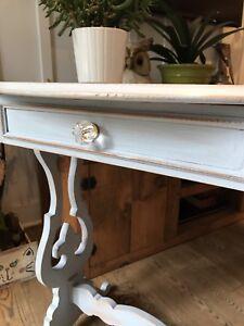 Jolie table vintage en érable faite au Québec