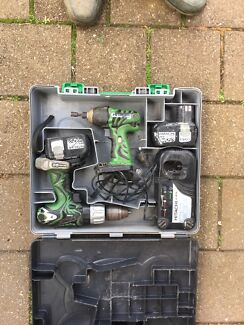 Hitachi 18v cordless set