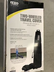 Izzo Golf #A56027 Two-Wheeled Travel Cover