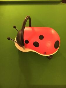 Wheelybug lady bug ride on