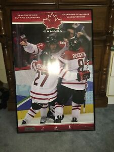 Sidney Crosby golden goal picture frame