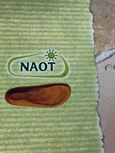 WHO DOESN'T LIKE SHOES.  New Naot Footbeds.