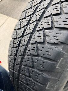 BRIDGESTONE SUMMER TIRES GOOD CONDITION