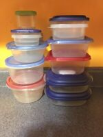 Free used Tupperware