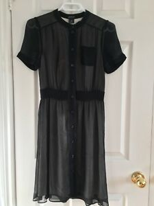 Club Monaco Chiffon Dress Size XS