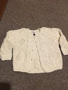 Girls knit sweater size 12 months