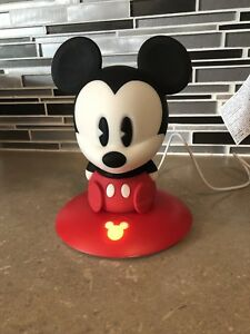 Mickey Mouse night light with charging base