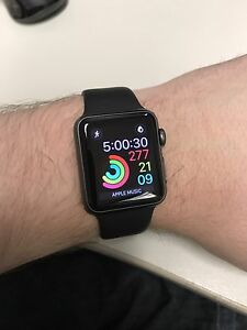 38mm Space Grey Apple Watch Series 1