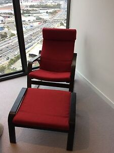 IKEA Rocking Chair with footrest Docklands Melbourne City Preview