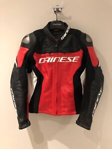 Dainese racing 3 leather jacket. Worn twice