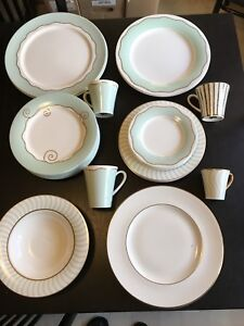 Doulton dinnerware for sale FUSION GREEN