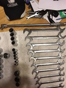 Snap-On Wrenches, Sockets and Breaker Bars (Standard)