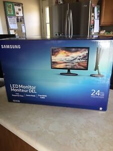 "Samsung 24"" gaming monitor like new"