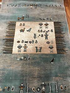 Afghan yarned carpet/rug