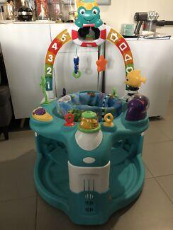 0925e1b00 Baby Einstein Lights   Sea Activity Gym Saucer