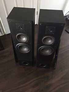 KLH tower speakers