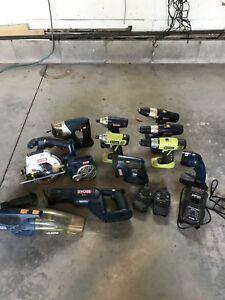 RYOBI ONE 18v Tool Set