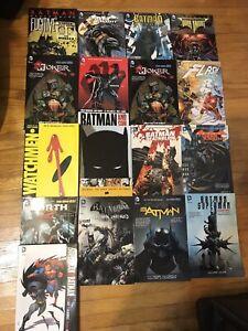 Superhero / Batman Graphic Novels ($5 each)